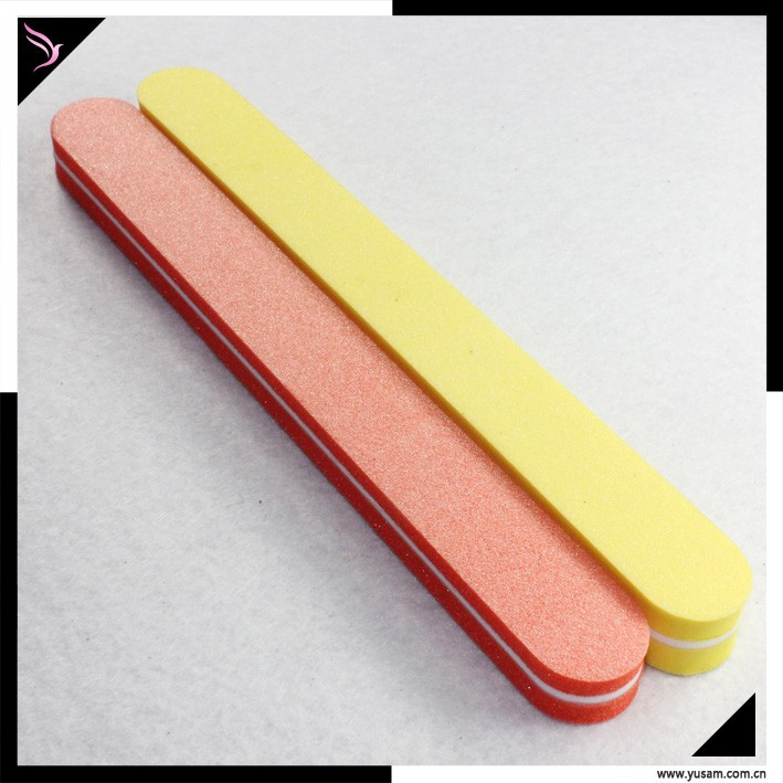 DOUBLE sided grit colorful nail file personalized nail files