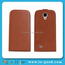 New Product Leather Flip Waterproof Case For Samsung Galaxy S4 Mini (Brown)