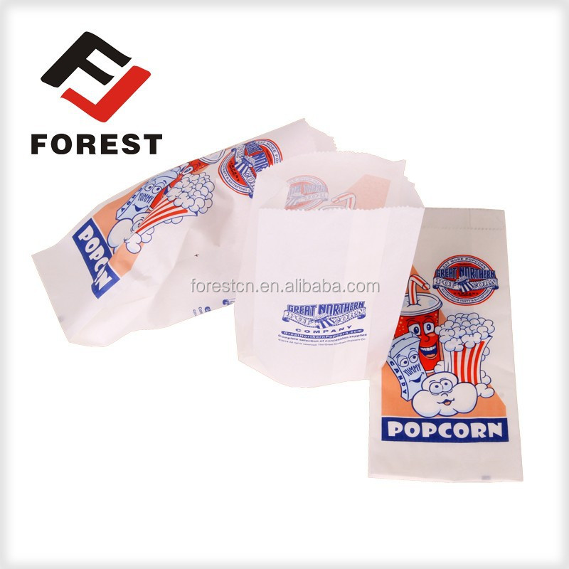 Chicken Packaging,Custom food grade popcorn packaging,greaseproof paper bag for food