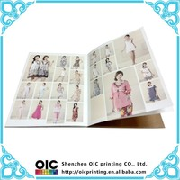 perfect binding custom design full color printing clothing book