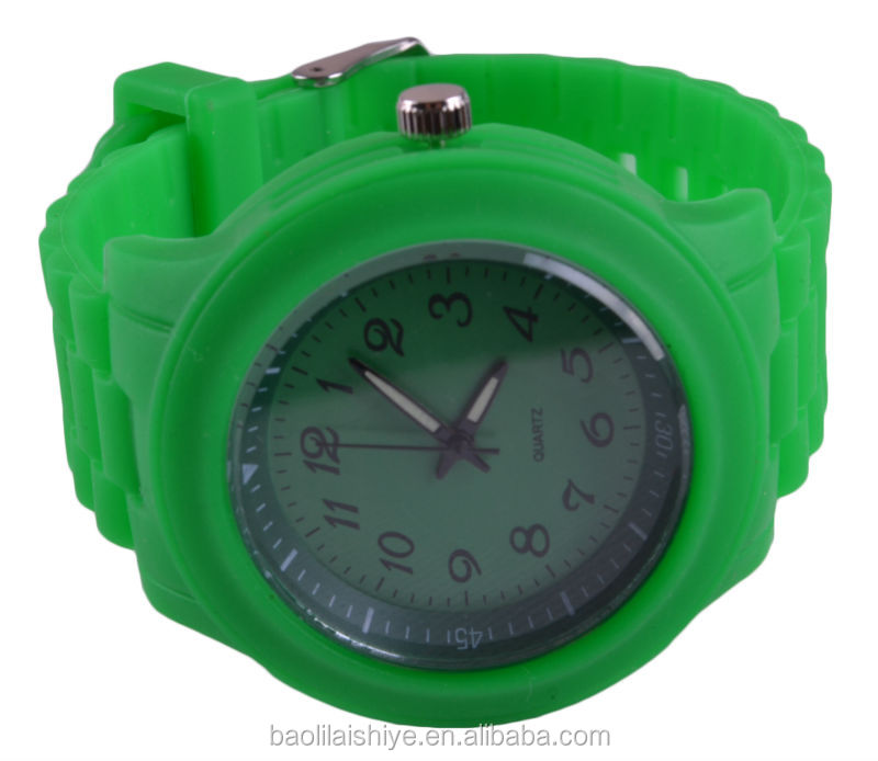 Custom Logo Silicone Jelly Watch,Colorful Silicone Watch,Waterproof Silicone Jelly Watch