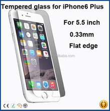 alibaba express hight quanlity 9H 0.33MM tempered glass screen protector for iphone 6 plus 5.5 inch accept paypal pay,ment