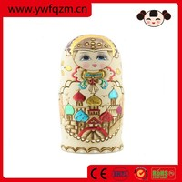 Hot sale natural wooden baby doll