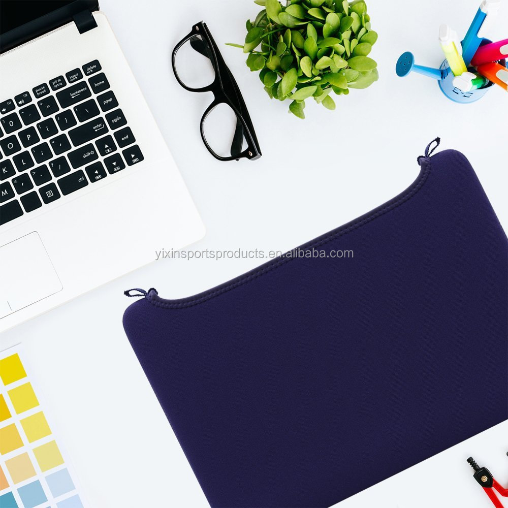Arc Top Neoprene Laptop Sleeve Soft Slim Computer Bag Cover Case for 15.4 Inch Macbook Pro