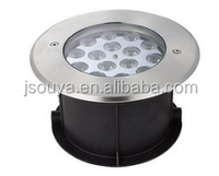 12W 15W 18W Waterproof ip68 outdoor lighting LED in ground light with connectors