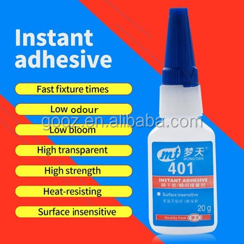 Factory Price Cyanoacrylate Super Glue 502 Instant Adhesive