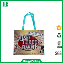 Advertising laminated recycled RPET non woven bag,Rpet tote non woven bag