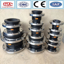 NR rubber expansion joint with carton steel flange