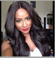 Wholesale factory stock beauty body wave silk base full lace wig brazilian hair full lace wig