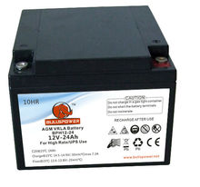 AGM GEL UPS Battery 12V24AH