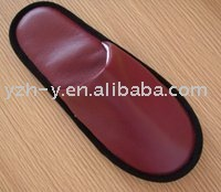 PU slipper for hotel