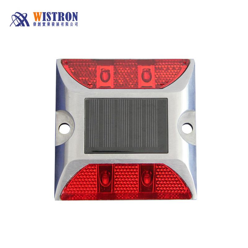 solar road stud aluminium led solar road stud reflective road stud
