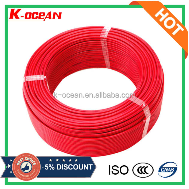 Supplier 450/750V Single Solid Core Copper Conductor PVC Electric Wire Cable Specification