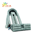 Guangzhou customized PVC fireproof inflatable slide with blower