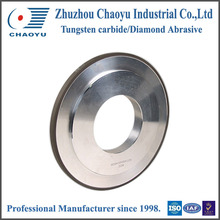 1A1 Flat shape cylindrical centerless diamond grinding wheel with CE&ISO