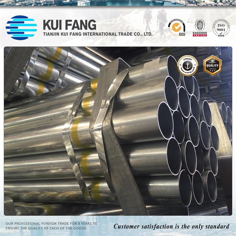 Wholesale Top Quality Hot dipped Galvanized Steel Tube / GI Pipe / galvanized steel pipe price list