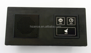 Hotel Wireless Zigbee Touch Doorbell with DND Wait MUR