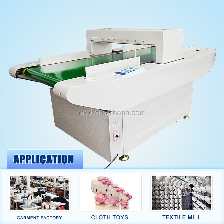 Professional Conveyor Belt Metal Detector for metal detectors for textile industry Needle Detector MCD-F02