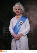 Queen Elizabeth II Wax Sculpture Lifesize Celebrity Leader Wax Figure