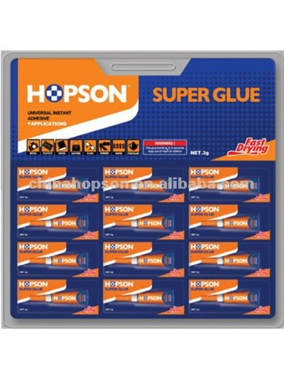 12pcs/card Double Blister cheap fast bond Aluminum Tube Super Glue