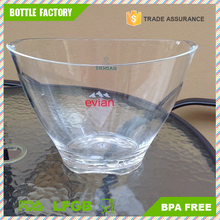 4L Clear Acrylic Champagne Beer Bar plastic ice bucket