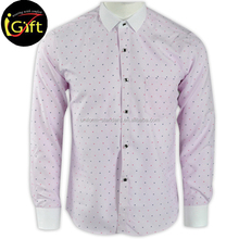 BSCI Garment Industry Fashion Customized men dress shirt