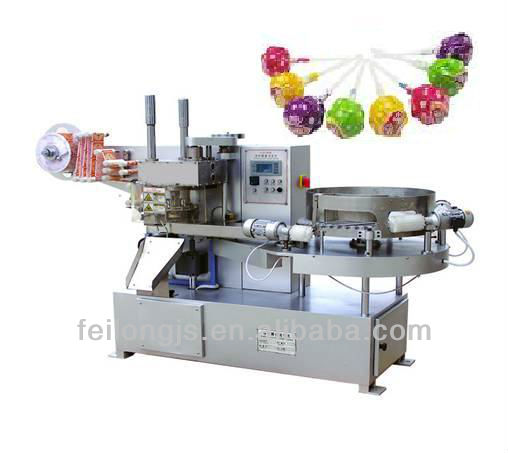 FLD-automatic round ball lollipop packing machine/wrapping machine