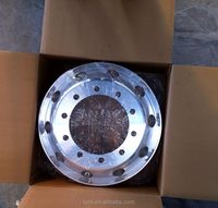Aluminum truck wheel rims with TUV,TS16949 approved