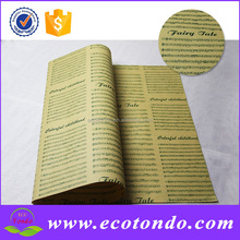 wholesale newspaper design papers wrapping flower for sale