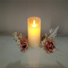 Bar used and paraffin wax material artificial flame candles
