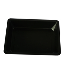 Biodegradable disposable fruit meat chicken packaging plastic foam frozen food tray