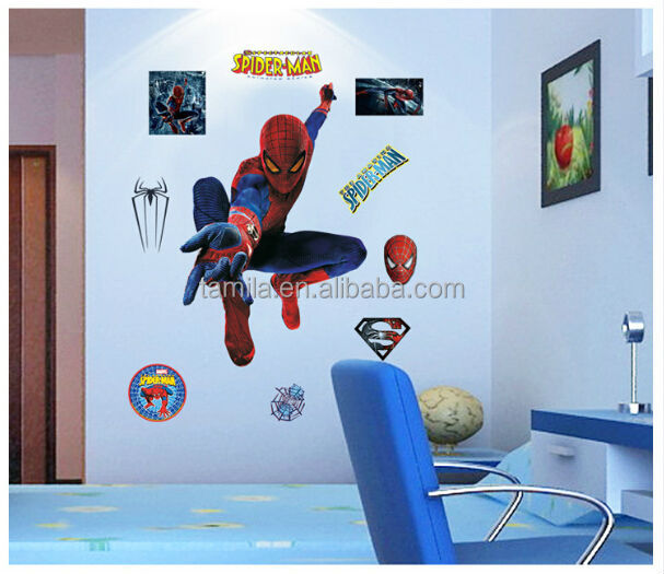 Kids Room Spiderman Sticker