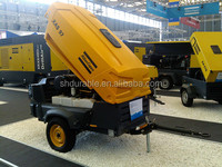 Atlas Portable air compressor for Mining