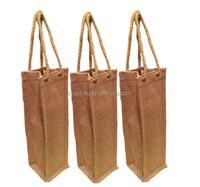 Cheap Fashion Low Price Eco-Friendly One Bottle Wine Tote Bag Wholesale