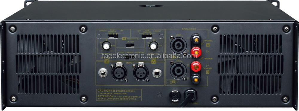 LF2400 Professional Power Amplifier for Speaker home theatre Karaoke