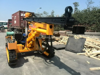 hydraulic borehole drill rig price,portable water well boring machine