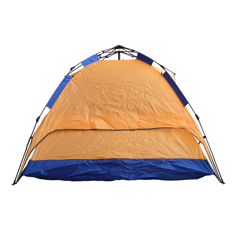 New Arrival Orange Easy Fold Tent For Hiking