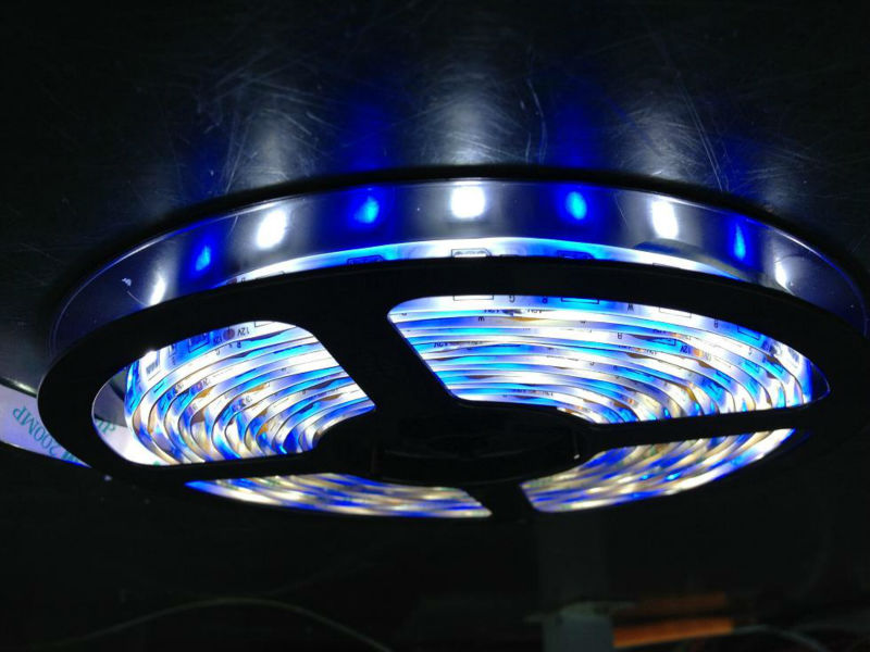 Mixed color RGB+W flexible led strip light 5050smd 60leds/meter led tape