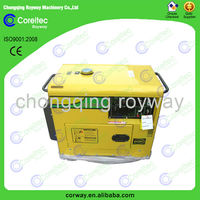 Small Portable Recoil/Electric Start Single Phase 10kva silent diesel generator