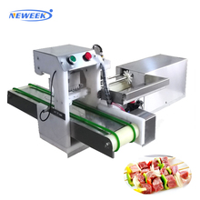 Neweek new design automatic electric meat shish kebab maker machine