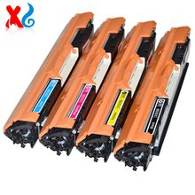 Compatible 310 Toner Cartridge For HP Color LaserJet 126A CE310A CE311A CE312A CE313A CP 1025 1027 M175A For canon CRG 329 Toner