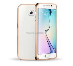 shockproof aluminum case for samsung galaxy s6 edge/ wholesale metal phone case for samsung s6 edge supplier