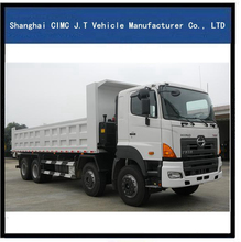 259kw scania dump truck with aluminum profile