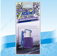 Auto liquid car hanging perfume popular/bottle perfume air freshener