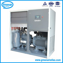 Atlas Copco Group China GM45+ 45kw 100HP Two Stage Permanent Magnet Variable Frequency Rotary Screw Air Compressor