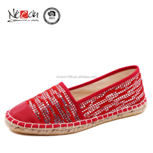 branded shoes ladies footwear,slip on espadrille