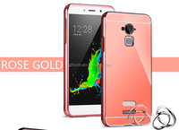 Most Popular Metal bumper 2 in1 grid back mobile phone case for coolpad note 3
