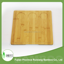 Eco-friendly high quality bamboo room hotel tray wholesale