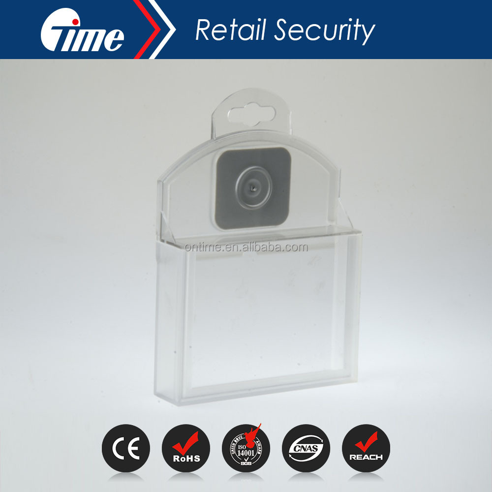 ONTIME SF5008 High Quality EAS retail shop anti theft equipment plastic security safer box
