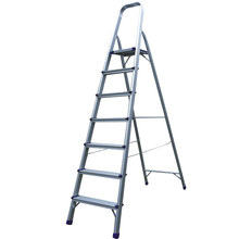 Brand new aluminum movable platform ladder with low price